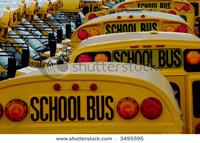 School Bus Parking Lot